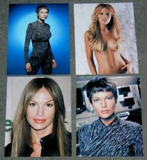 SET OF FOUR Jolene Blalock STAR TREK,10 x 8 PHOTO'S,BARGAIN LOT,SET.FREE P&P! 38