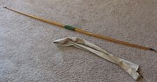 ANTIQUE BOW ENGLAND LONGBOW ALFRED LONDON 48