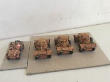4 BRITISH HUMBER DAIMLER A/C CARS FLAMES OF WAR NORTH AFRICA STYTREX 15MM