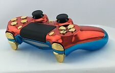 Official Sony PS4 Wireless Controller Custom Modded Wonder Woman Blue Red 30