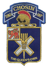 """32nd Infantry """"CHOSIN"""" Embroidered Patches WAX backing - OIF OEF 10th Mountain"""