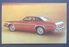 1975 FORD ELITE HARDTOP promotional postcard (for dealers use)..ever own one???