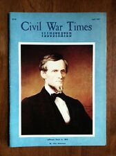 CIVIL WAR TIMES ILLUSTRATED April 1967 Gettysburg Jefferson Davis An Appraisal!