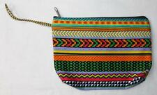 FAIR TRADE MOROCCAN PSYCHEDELIC WASH BAG  MAKE UP CASE FROM MARRAKESH MOROCCO