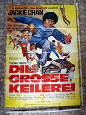 JACKIE CHAN * DIE GROSSE KEILEREI / BIG BRAW -A0-Kinoposter XXLGer 2-SHEET 1981