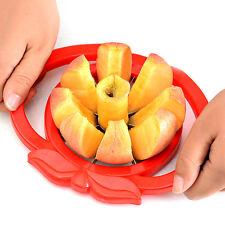 NICE Apple Wedger Slicer Cutter Corer Divider Peeler Pear Fruit Stainless Steel