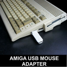 Commodore Amiga A500 A600 A1200 Ratón Adaptador para PC USB Ratones - GB