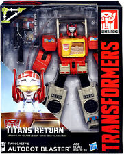 TRANSFORMERS GENERATIONS TITANS RETURN LEADER CLASS AUTOBOT BLASTER FIGURE