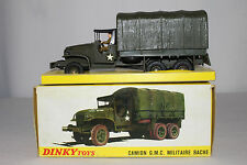 1960's Dinky #809 GMC Military Troop Carrier, Nice with Original Box Lot #3