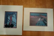 Lot of 2 Amado M Pena, Jr Southwestern Art Prints Familia del Valle matted