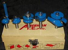 "ROUTER BIT 6PC 1/2""  SET ROUTER BIT OGEE RAISED PANEL ROMAN"