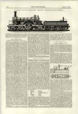 1890 Broad Gauge Engine Great Western Railway Lord Isles