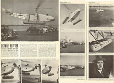 1941 WW2 Article SIKORSKY VS300 experimental Amphibian Helicopter 031116