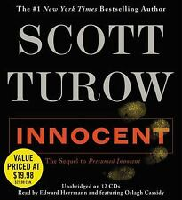 Innocent (Audio Book, 2012) Scott Turow, Unabridged, 12 disc set