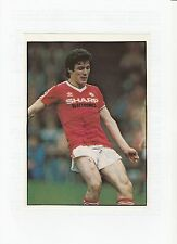 FRANK STAPLETON MANCHESTER UNITED 1981-1987 ORIG HAND SIGNED MAGAZINE CUTTING