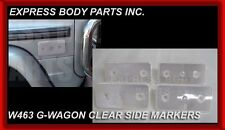 New G Wagon Mercedes Benz 1990-2013 Clear Side Marker Reflector 2 Pair W463