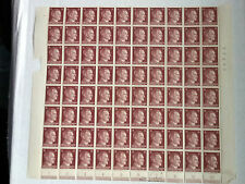 NAZI GERMANY 3RD REICH HITLER SET OF 80 15 pfennig POST STAMPS