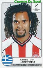 223 KAREMBEU FRANCE OLYMPIAKOS STICKER PANINI CHAMPIONS LEAGUE 2001-2002