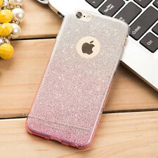 Glitter Bling ShockProof Soft Silicone Case Cover For Apple iPhone 5 6 6s 7 Plus