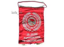 DDR lucha grupos banderín/mesa-bandera 1978 East German Combat groups flag for TA