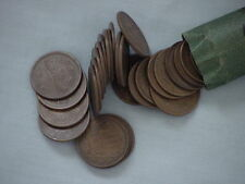 Roll of 50 Japan Japanese (Ten) 10 Yen Coins, Dates Range From 1951 to Present
