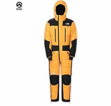 New North Face Himalayan Down Suit Md Med Medium Yellow Black Mens Summit Series