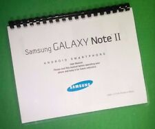 COLOR PRINTED Samsung Galaxy Phone Note 2 Manual, User Guide 222 Pages