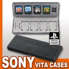 OFFICIAL SONY PS VITA PSV 10 IN 1 MEMORY CARD GAME BOX CASE HOLDER NEW