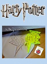 Harry Potter HP Cookie Cutter solemnemente travesuras Cupcake Fondant Pan de jengibre