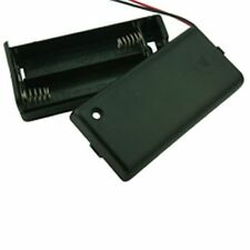 Enclosed Battery Box With Switch 2xAA