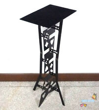 Magic Folding Table (Alloy) - Black color, Magician's best table,stage magic