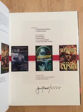 SIGNED & Dated - Cover Story : The Art of John Picacio Hardcover New