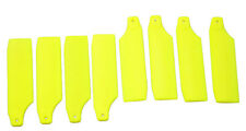 4sets 65mm Light Yellow Tail Rotor Blades for Trex 450 RC helicopter