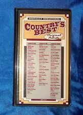 Country's Best, Original Artists 3 Cassettes 42 Songs