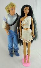 Barbie Mattel Disney POCAHONTAS & JOHN SMITH #f1