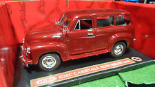 CHEVROLET CARRYALL SUBURBAN 1950 rge 1/18 MIRA 6235 voiture miniature collection