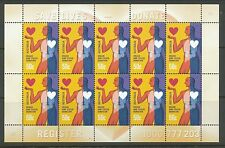Australian Stamps: 2008 Organ & Tissue Donation - Sheetlet of 10
