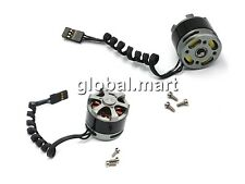 2x 2208 39g 3mm shaft Gimbal Brushless Motor 80KV 100-200g GoPro A0973 (GBP)