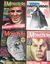 FAMOUS MONSTERS OF FILMLAND: 4 GREAT ISSUES!  1964 - 1978