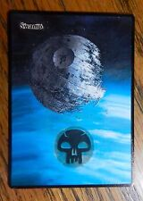 MTG altered art Star Wars Death Star Swamp