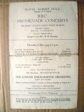 Royal Albert Hall- BBC Promenade Concerts, 8 July 1943