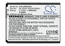 3.7V Battery for LG D620J D620K D620R BL-59UH Premium Cell UK NEW