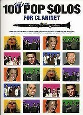 100 More Pop Solos For Clarinet Clt, Various, New Book