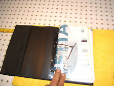 VW 2002 Jetta Wagon Owner manual's Genuine OEM 1 Booklet with BLACK outer 1 Case