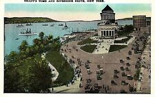 New York, Grant`s Tomb and Riverside Drive, um 1920/30