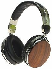 Symphonized Wraith 2.0 Premium Genuine Wood Headphones with Mic (Walnut)