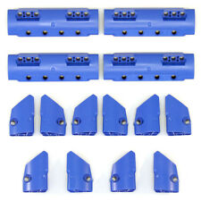Lego Technic - Blue Studless Panels Fairings Bricks - Selection 14 Parts - NEW