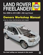 Haynes Manual 5636 Land Rover Freelander 2 Diesel Nov 2006 - 2014
