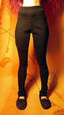 Black leggings for slim MSD dollfie, minifee, 1/4 bjd DOLL