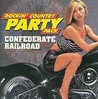 Rockin' Country Party Pack by Confederate Railroad (CD, Apr-2008, Flashback...